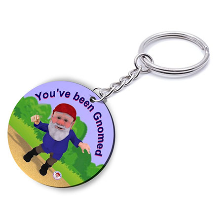 You've Been Gnomed Keyring