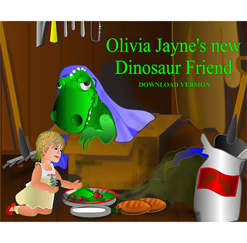 Olivia Jaynes new dinosuar friend