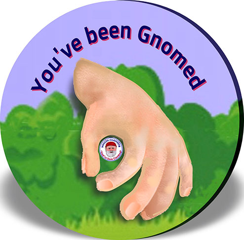 Noggin Hand – Fridge Magnet