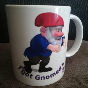 I've Been Gnomed mug