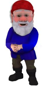 You've been gnomed good.
