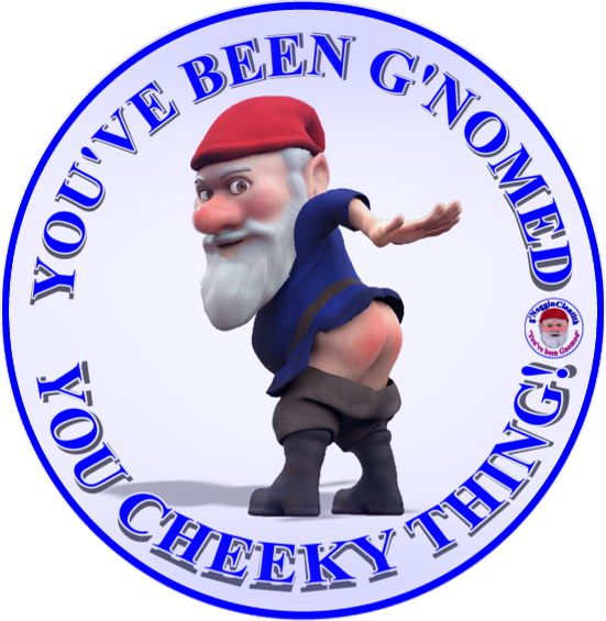Noggin the Gnome You Cheeky Thing Fridge Magnet